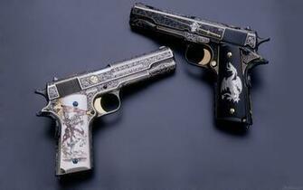 Pistol HD wallpaper 1680x1050 33928