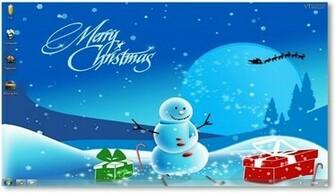 Christmas Desktop Themes Backgrounds for the Holiday Season