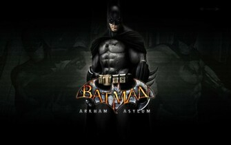 Batman Arkham Asylum Wallpaper Batman wallpaper   189147