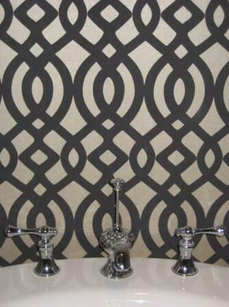 Du Barry Wallpaper   Contemporary   bathroom   Niche Interiors