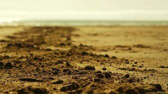 Beach Sand Depth Of Field Wallpaper Picture For iPhone Blackberry