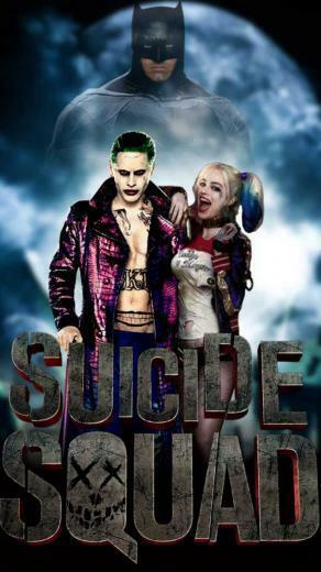iPhone Wallpaper Harley Quinn and Joker 2019 3D iPhone Wallpaper