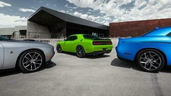 Dodge Challenger Widescreen Wallpaper   13813