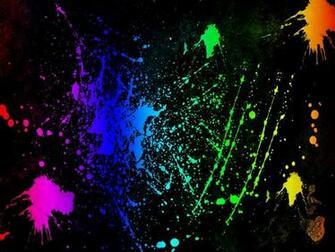 Splatter   Neon Colors Rock Wallpaper 18995953