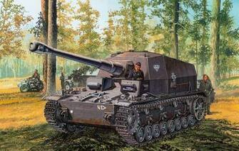 Wallpaper figure the Wehrmacht tank fighter SPG PzJgDeptSfl