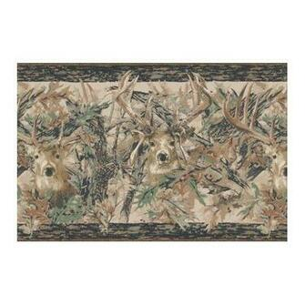 Camo Deer Wallpaper Border Home Improvement