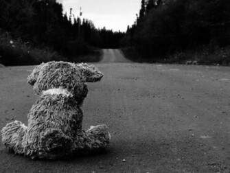 Sad Roads Wallpaper 1920x1440 Sad Roads Teddy Bears