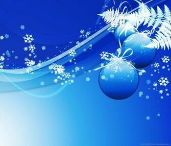 Blue Design Christmas Background Wallpaper For Samsung Galaxy Tab