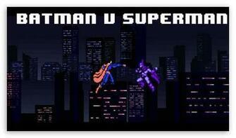 bit Batman v Superman HD wallpaper for HD 169 High Definition WQHD