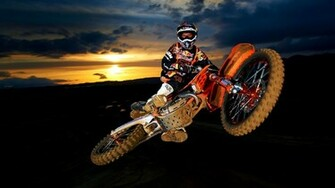 KTM Motocross Offroad Wallpaper HD 817 Wallpaper with 1920x1080
