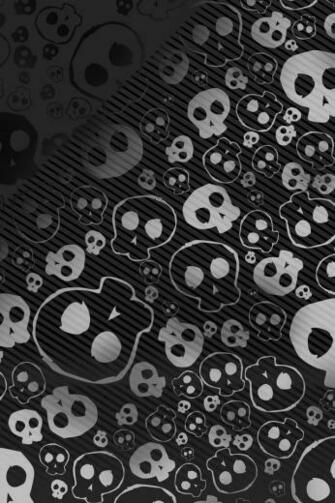Emo skull iPhone HD Wallpaper iPhone HD Wallpaper download iPhone
