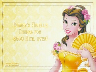 Desktop Wallpaper Disney Princess Belle Wallpaper Page 2