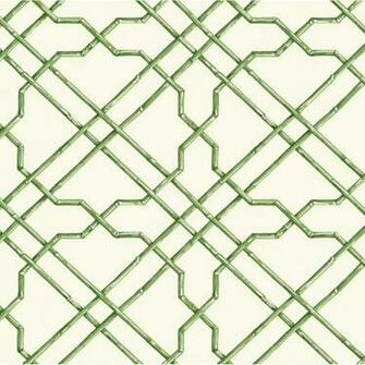 Wallpaper Eastern Influence Bamboo Trellis Wallpaper