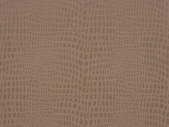 Delivery on Strike Mocha Brown Crocodile Skin Wallpaper