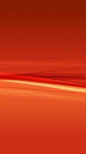 Orange Abstract Curves Wallpaper   iPhone Wallpapers
