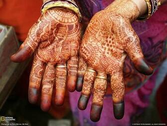 Henna Hands Photo India Wallpaper National Geographic Photo of