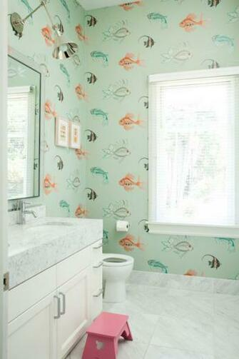 . 48   Fish Design Bathroom Wallpaper on WallpaperSafari