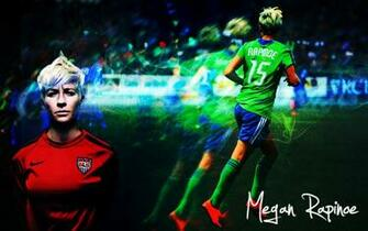 Megan Rapinoe Wallpaper by colormesnazzy