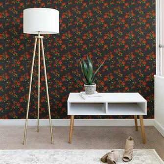Shop Holli Zollinger Bohemian Farmhouse Floral Wallpaper   On Sale