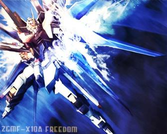 ZGMF X10A Freedom Gundam Wallpaper by DARKLORDMOKEYMOKEY