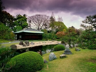 Japanese garden wallpapers new
