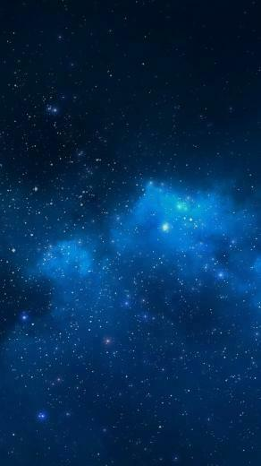 Blue Starry Night Sky Wallpaper   iPhone Wallpapers