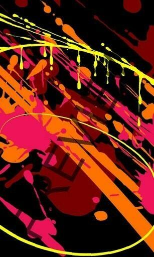 View bigger   Abstract graffiti wallpaper for Android screenshot