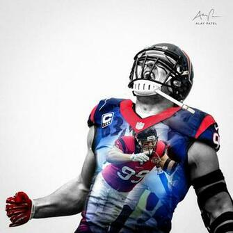 Jj Watt Iphone Wallpaper Attempts To Block A Pictures