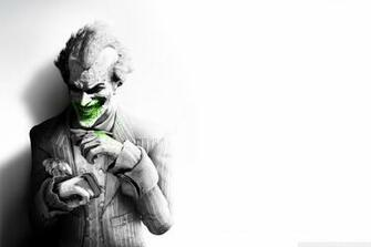 The Joker Arkham City 4K HD Desktop Wallpaper for 4K Ultra HD