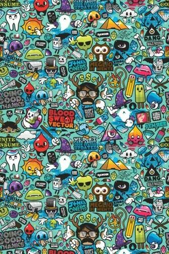 Funky Pattern iPhone Wallpaper HD