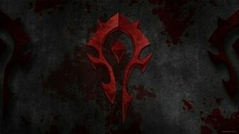 Free Download Wow Horde Logo Wallpaper Horde Wallpaper By