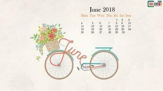 June 2018 HD Calendar Wallpaper Max Calendars