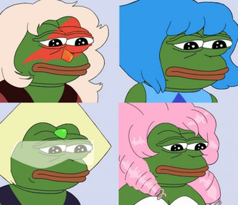 Rare Crystal Pepes Set 2 by dongoverload