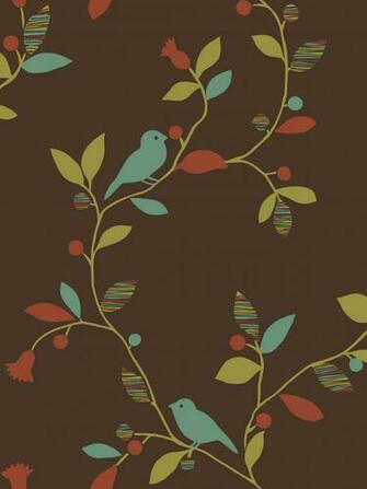Bird Trail design from Sandpiper Studios Eco Chic wallpaper