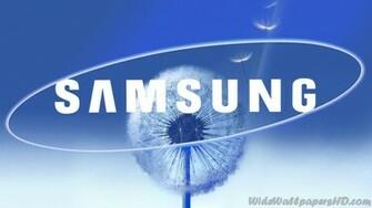 Samsung Blue Dandelion Logo Samsung Wallpapers 19201080
