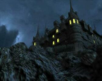 3D Castle Screensaver haunted castle screensaver