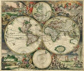 World Map Decorating photo wall Mural wallpaper peel and stick Art 542