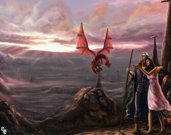 Dragonlance Wallpaper Dragon lance by designes