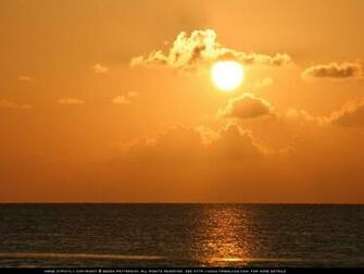 tropical caribbean sunset wallpaper beren patterson all rights