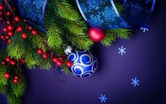 Christmas Ball Blue   1920x1200   1610