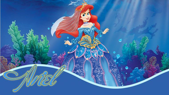 Disney HD Wallpapers Walt Disney Princess Ariel HD Wallpapers