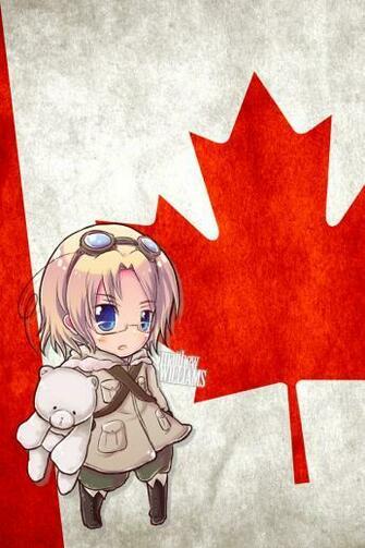 Hetalia iWallpapers   Canada by Dreamweaver38