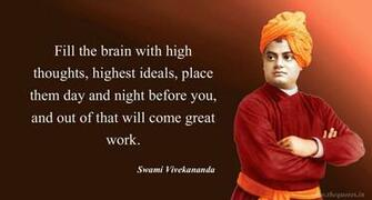 Swami Vivekananda Wallpaper   Thoughts For The Day By Swami