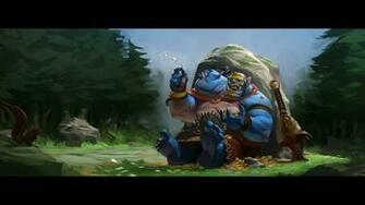 Aggron Stonebreaker the Ogre Magi  Dota 2 Wallpaper