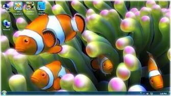 windows 7 desktop live fish wallpaper download