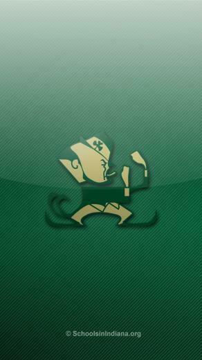 Notre Dame Fighting Irish Iphone 5 Wallpapers Schools In Indiana