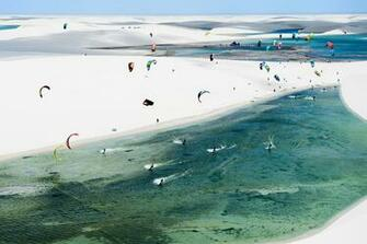 Freeride kitesurfing wallpaper Red Bull Rally dos Ventos in Brazil