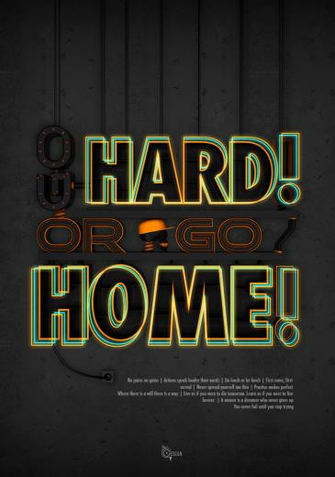 Free Download Go Hard Or Go Home Wallpaper Go Hard By