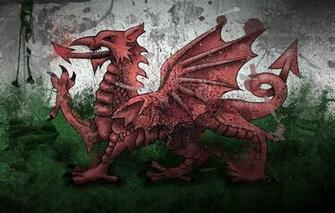 Wallpaper paint Dragon flag Wales Wales Wales images for