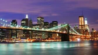 United States New York City Night Wallpaper   HD Wallpapers